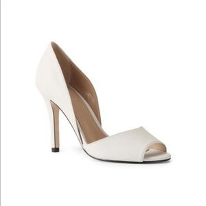 Lands' End D'orsay Heel - White